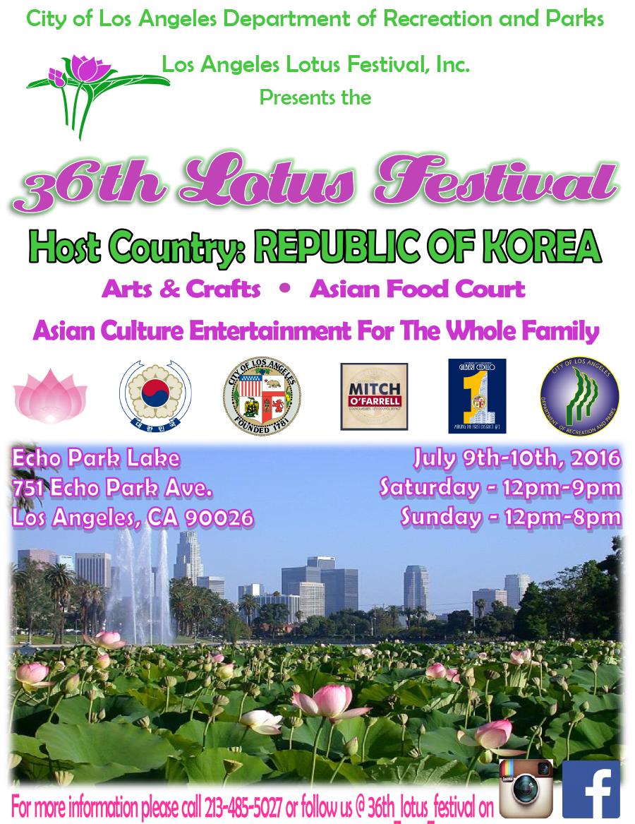 2016 Lotus Festival